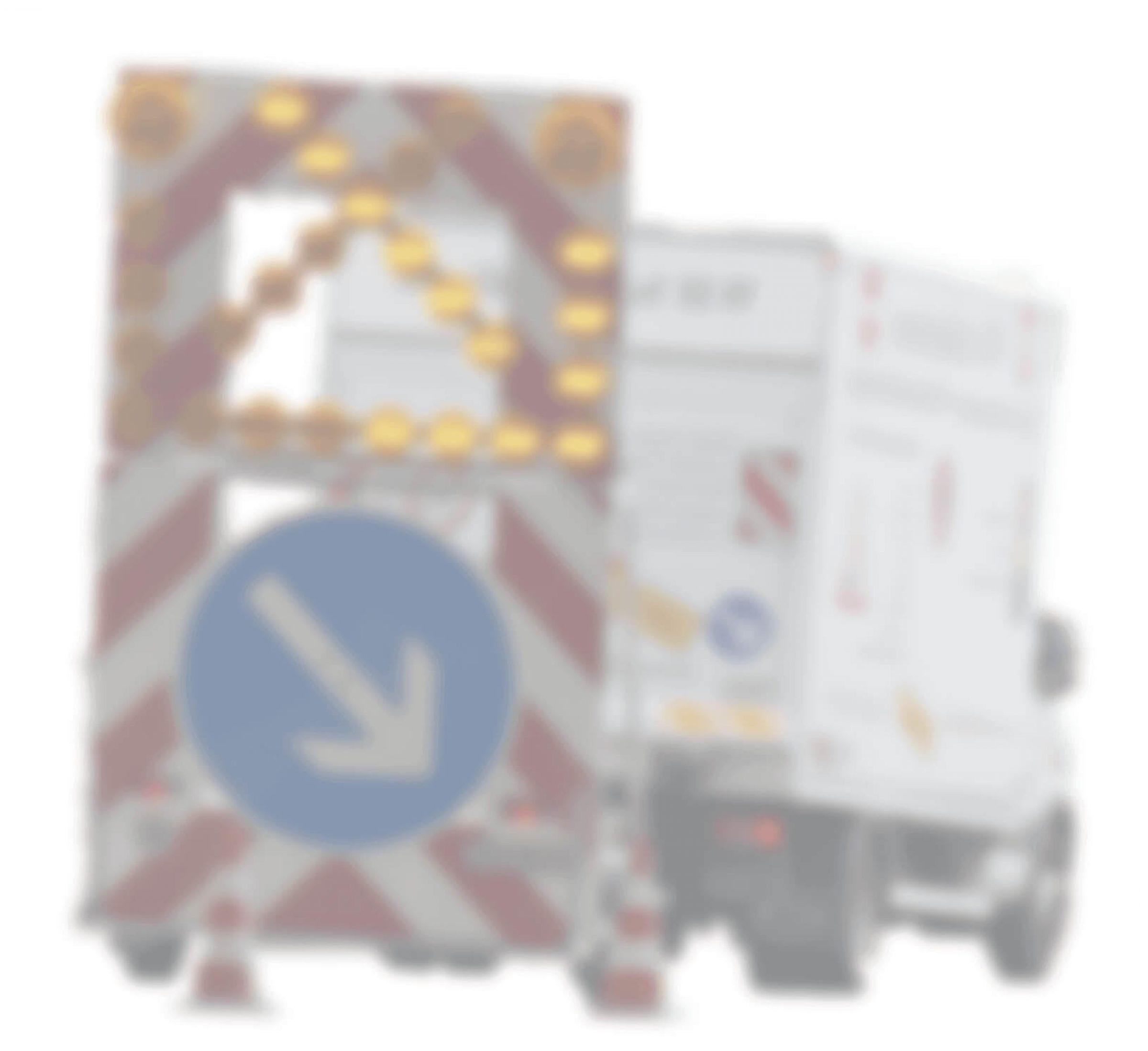 Lastkraftwagen von WH-Schilderdienst